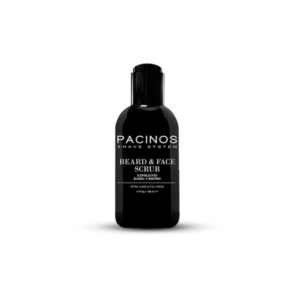 Beard & Face Scrub Cleanser Pacinos 110ml