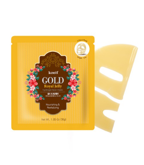 Masca Fermitate - Gold Royal Jelly Hydrogel Pack