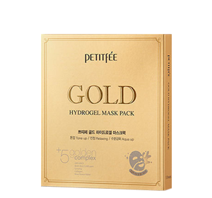 Masca Aur 24K - GOLD Hydrogel Pack