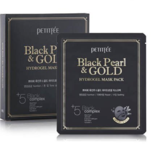 Masca Perle Negre - BLACK PEARL & GOLD Hydrogel Pack